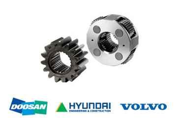 Daewoo Excavator Parts – Gears