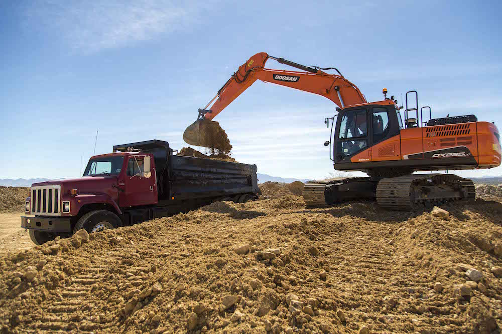 Doosan launches DX180LC-5, DX225LC-5, DX235LCR-5 excavators with Smart Power Control, cab updates